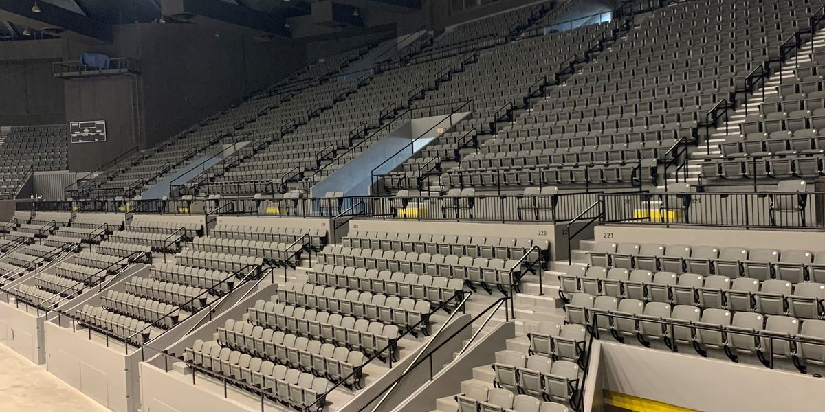Renovations to Miss. Coliseum completed ahead of schedule