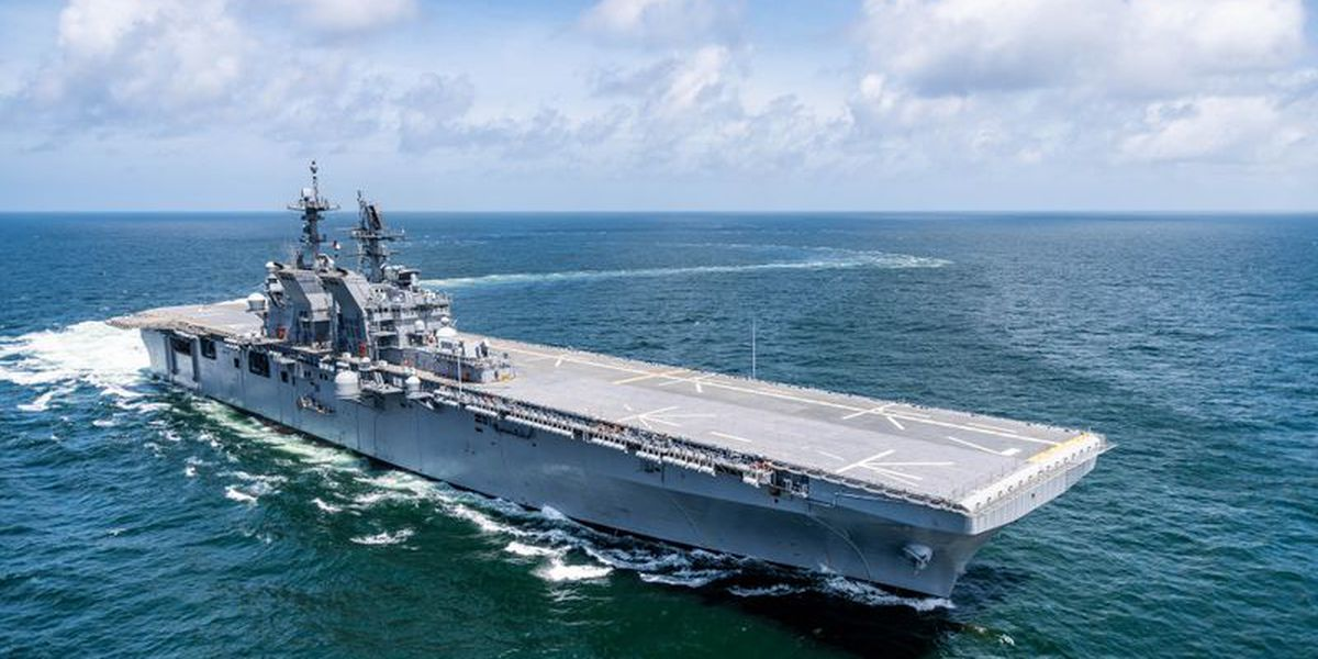 Miss. shipbuilder receives $107 million contract to purchase materials for new warship