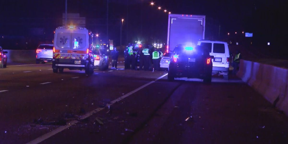JPD investigates deadly wreck after man killed on I-55 near Elton Rd.