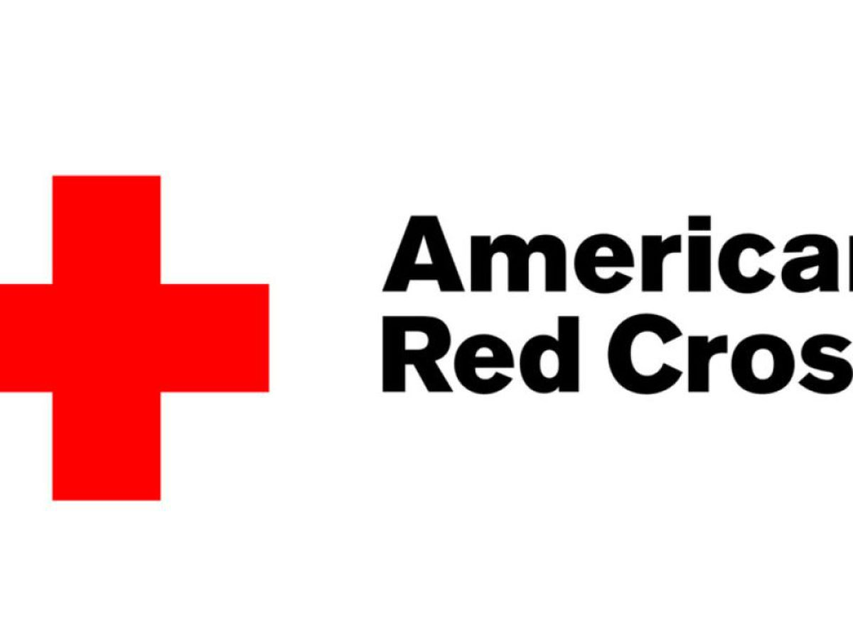 Red Cross sets up supply distribution for flood victims