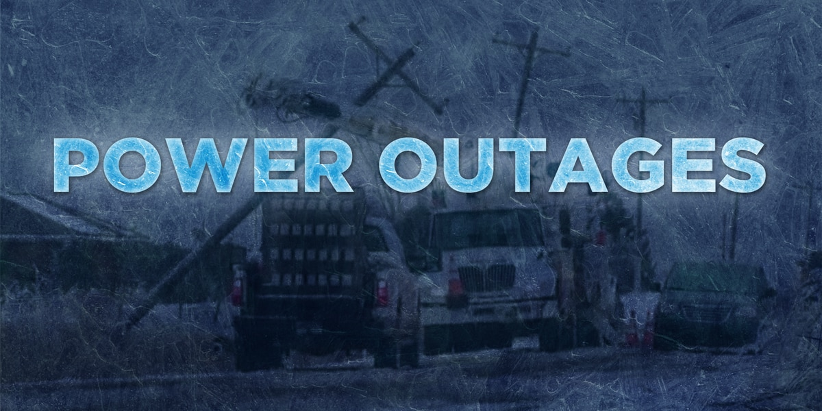Power outages reach 173,000 homes Thursday, see the latest numbers now