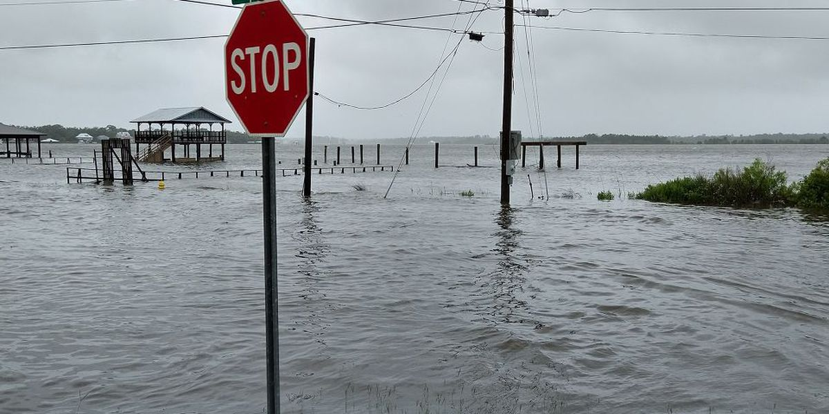 Tropical Storm Cristobal's La. landfall brings winds, flooding to South Mississippi