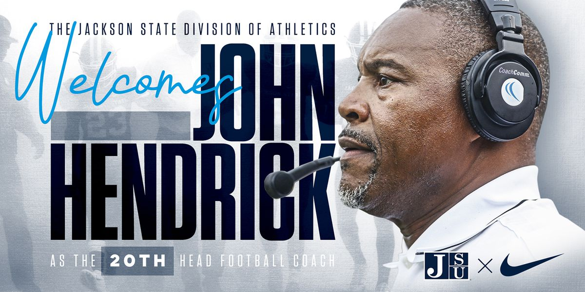 Jackson State names John Hendrick new head football coach