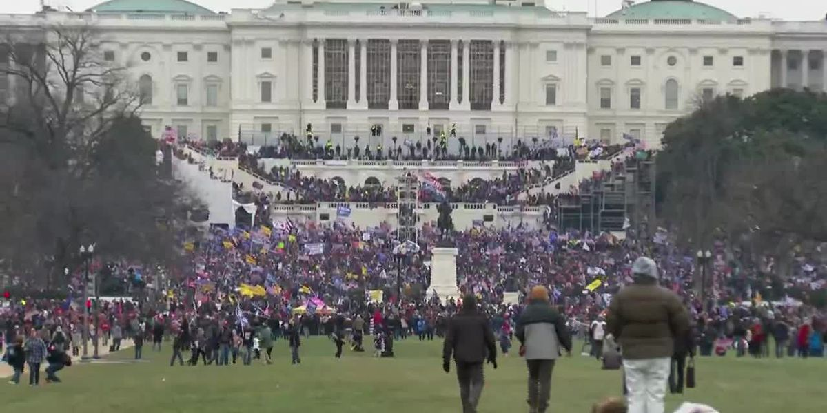 At least 150 people face federal charges in Capitol riot