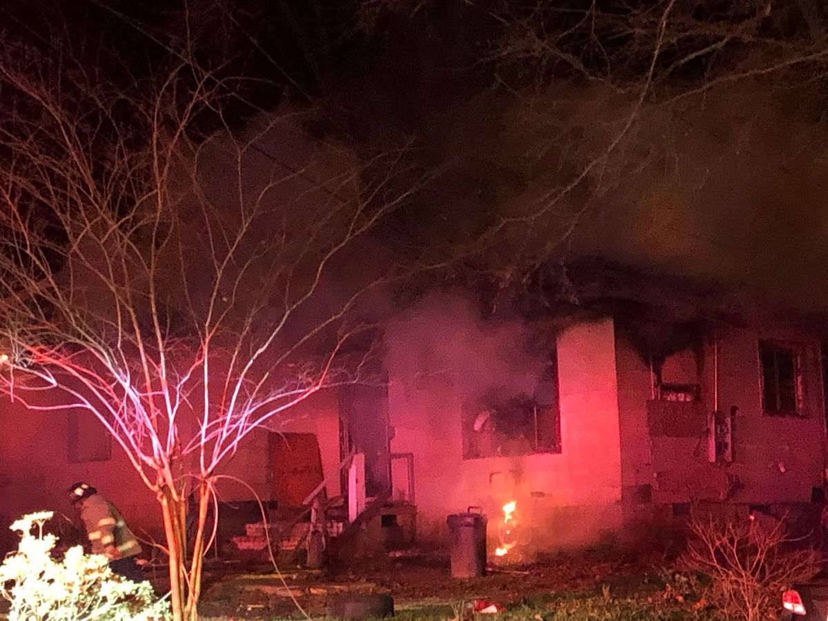 House catches fire on Terry Rd. in Jackson