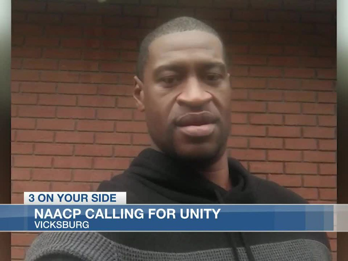 Vicksburg NAACP calling for unity, planning protest against police brutality