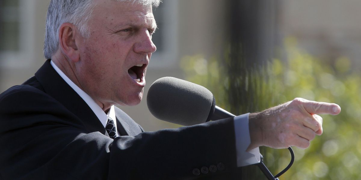 Mayor bans Franklin Graham from speaking at UK event over LGBTQ views