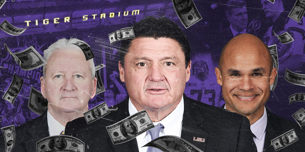 Ed Orgeron, coaching staff to earn big payday for LSU's national championship victory