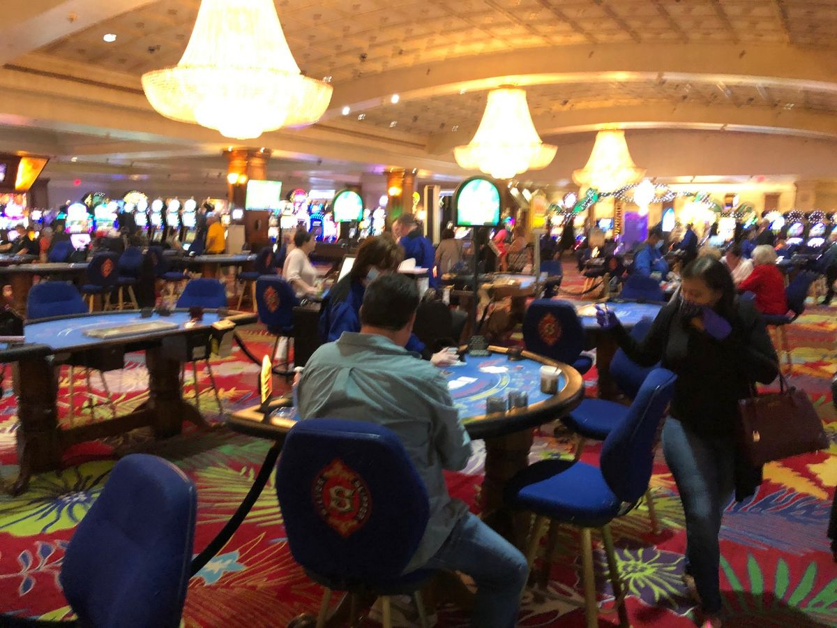 Opening day for Mississippi casinos; here's a look inside