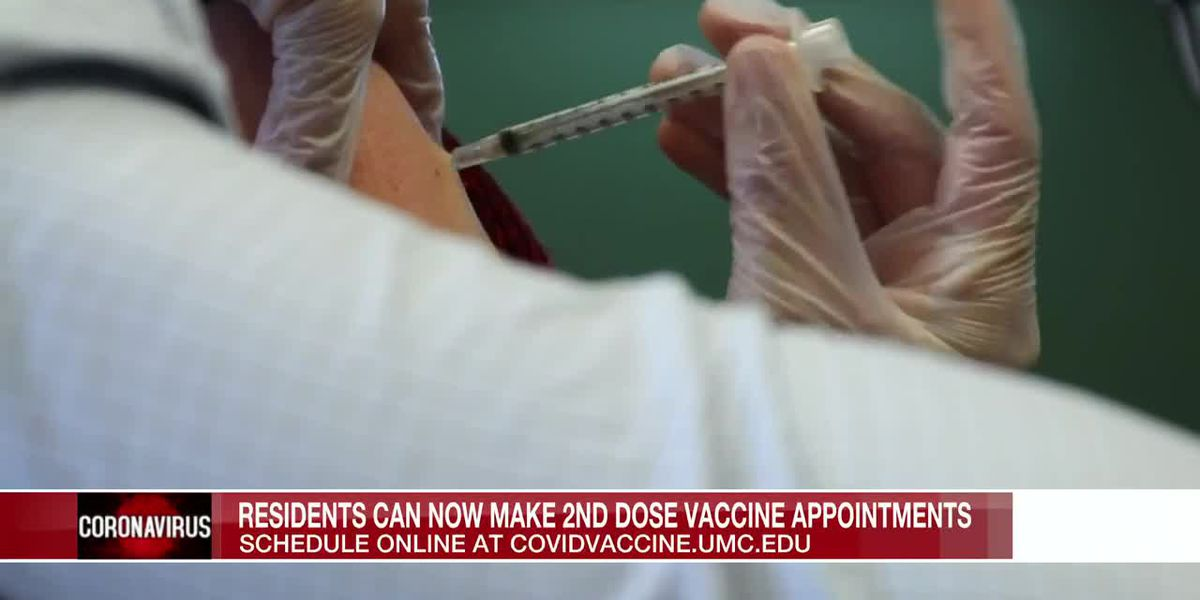 Miss. residents can now schedule 2nd dose vaccine appointments
