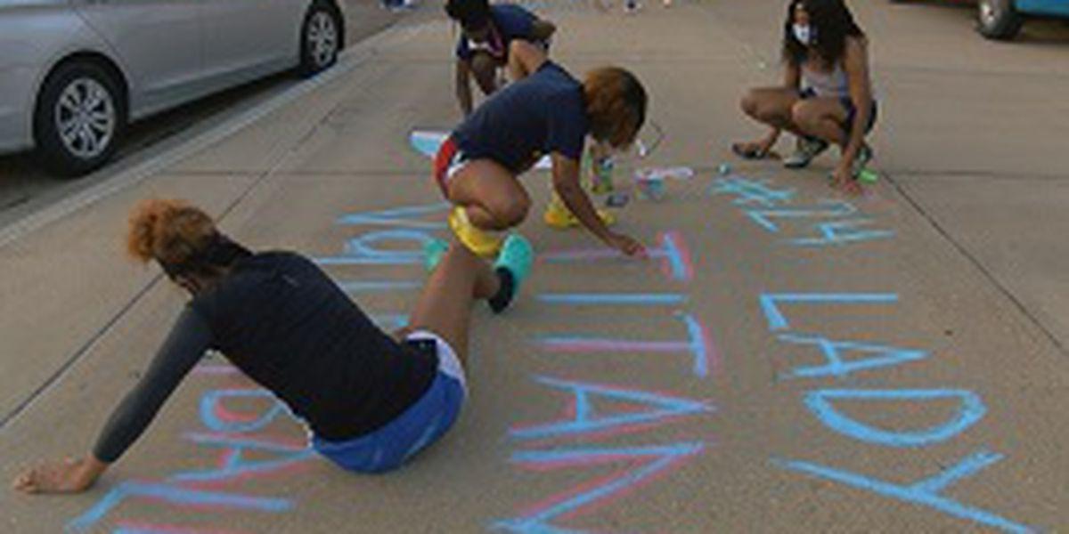 Ridgeland High School celebrates Senior Sidewalk Sunset