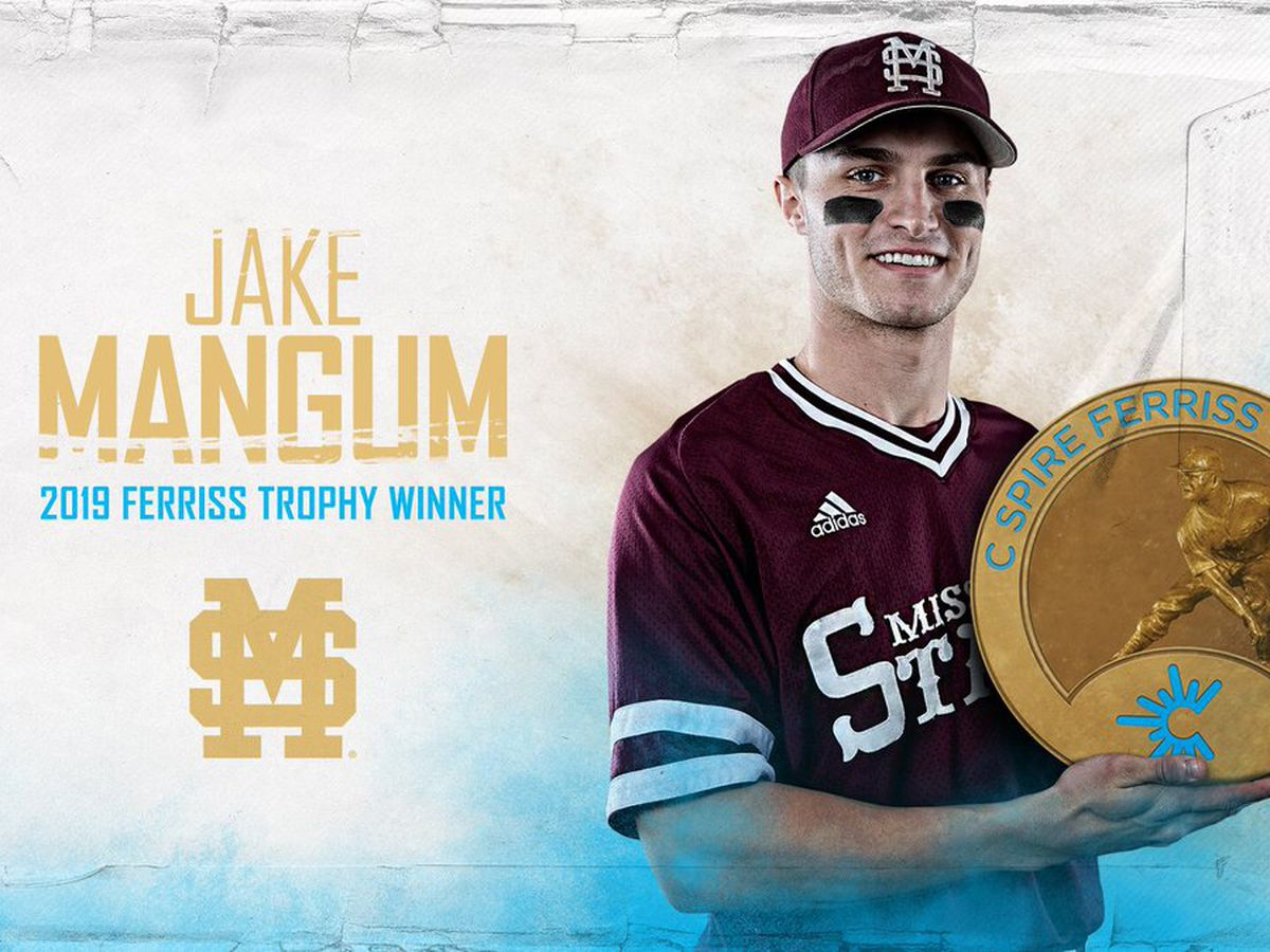 Mississippi State's Jake Mangum wins 2019 C Spire Ferriss Trophy