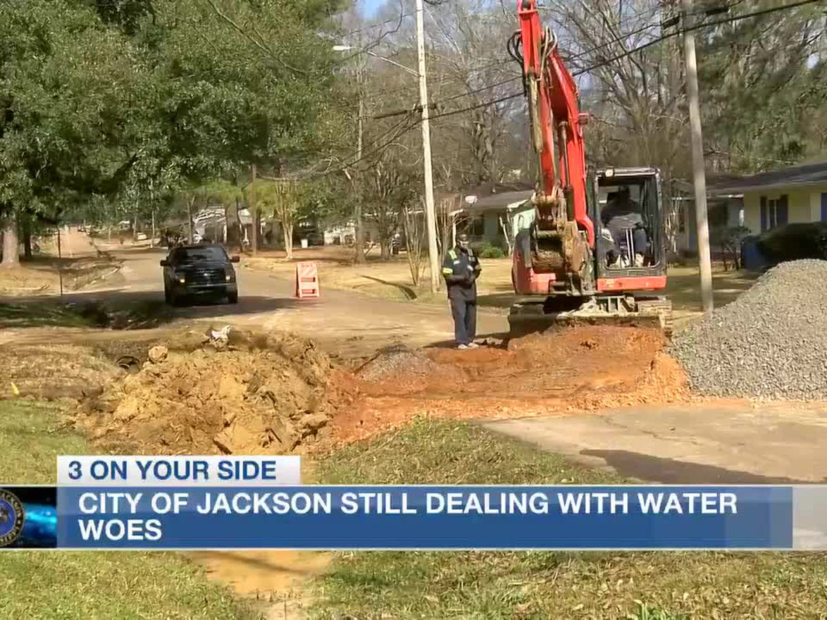 City of Jackson says water has been restored to most homes; some areas still seeing low water pressure