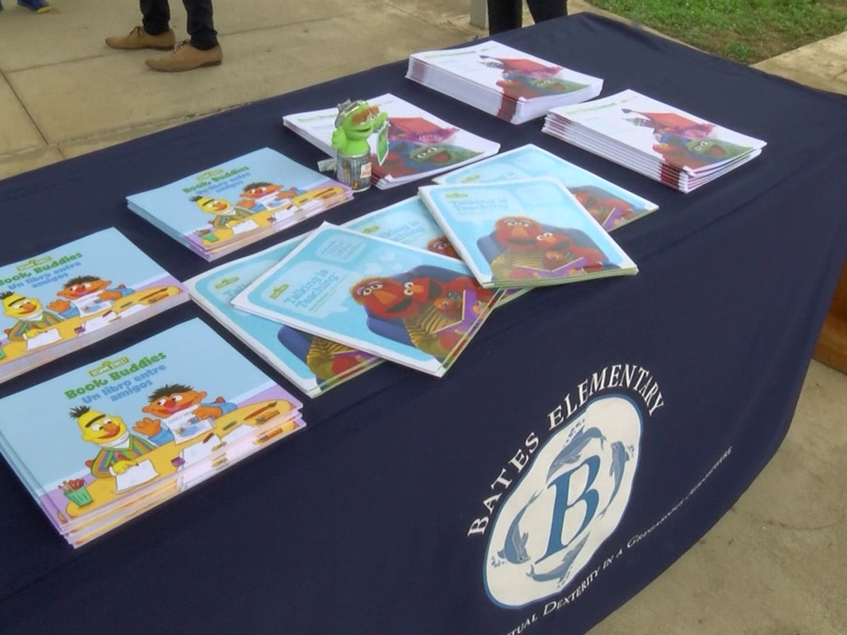 Sesame Street donate kits to Jackson to help with distance learning