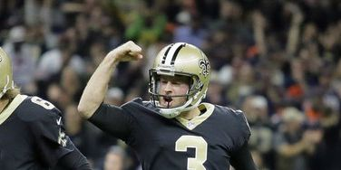 Kicker Wil Lutz limited in practice Tuesday
