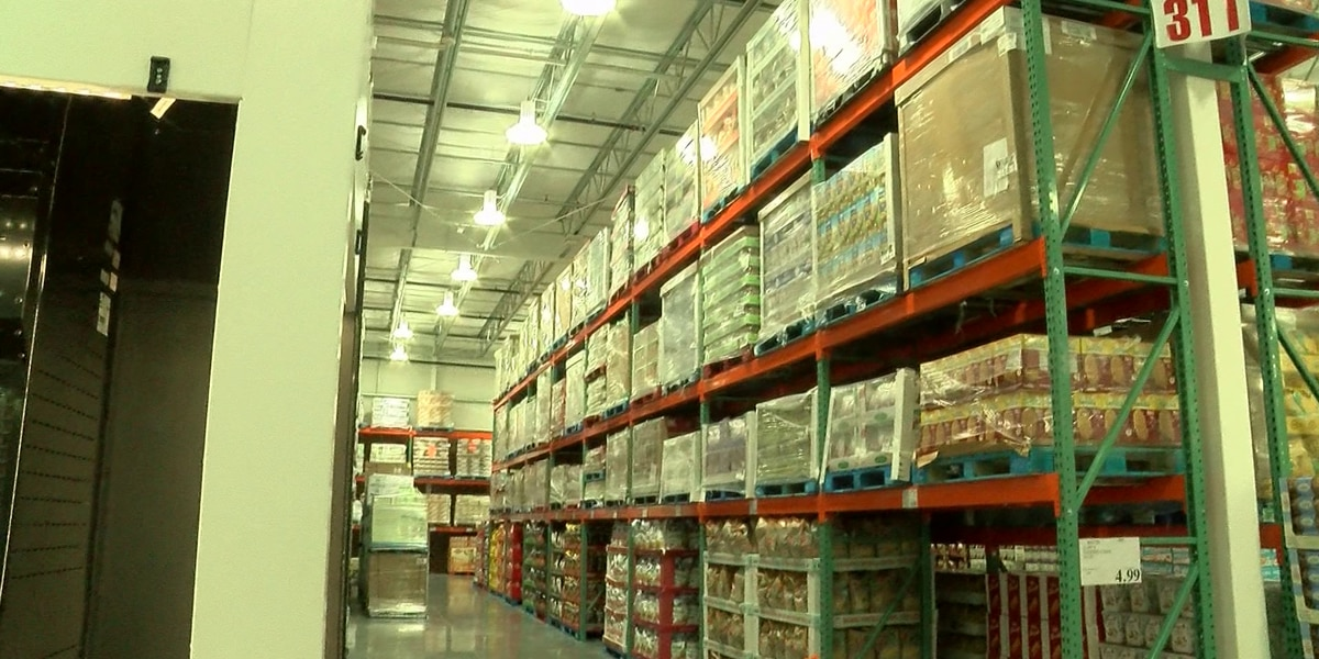 Shelves fill up for upcoming Costco opening