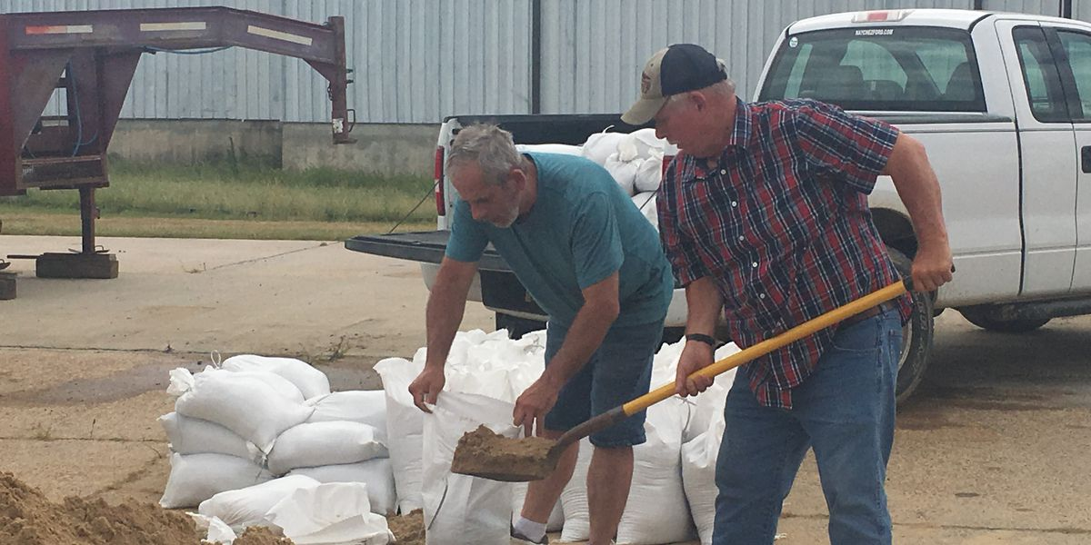 City of Natchez braces for Tropical Storm Barry