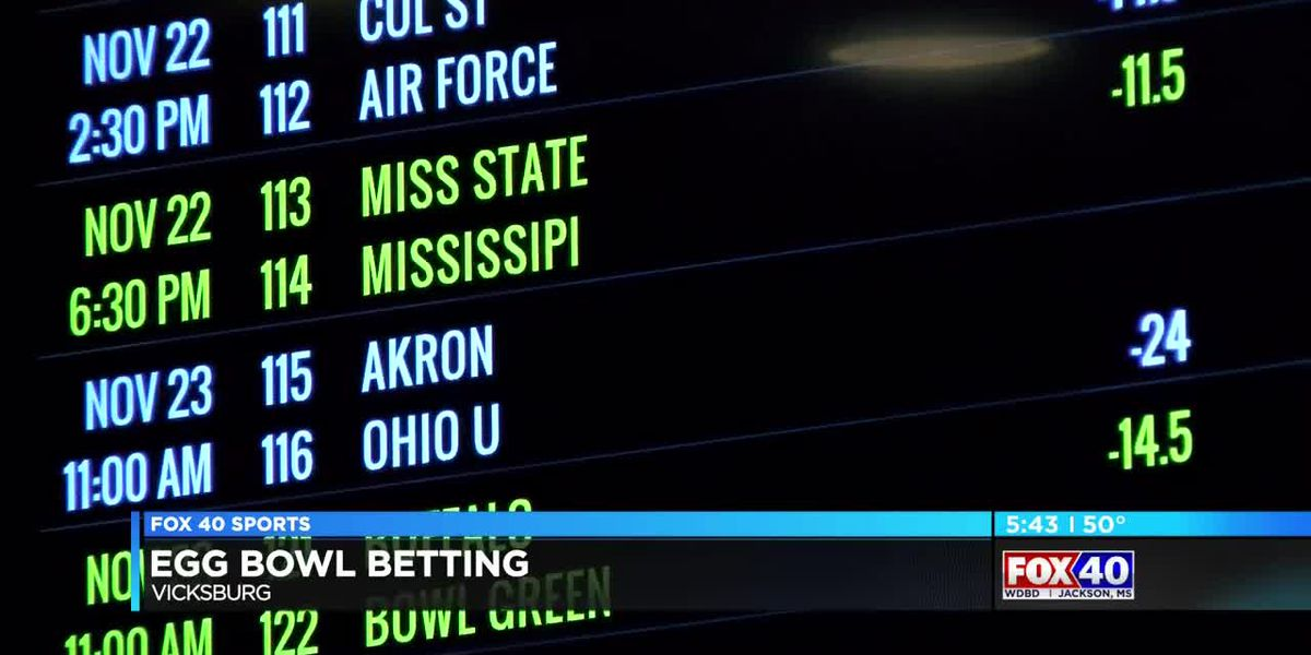 Betting on the Egg Bowl