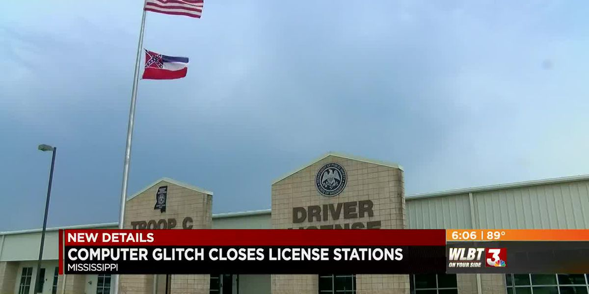 Computer glitch shuts down driver's license stations across the state