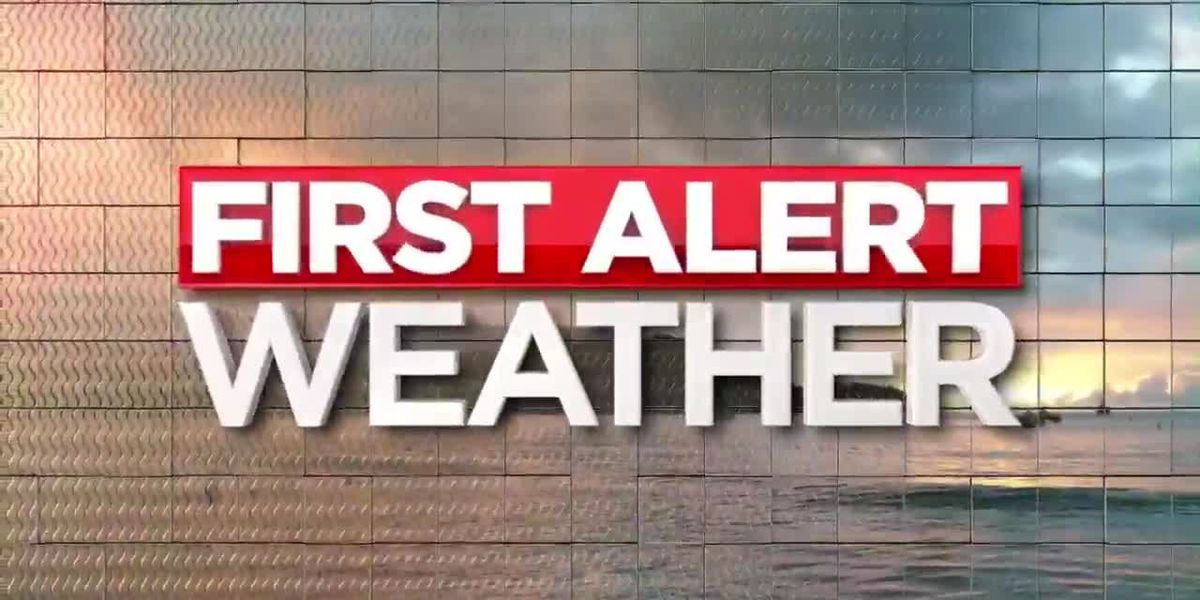 First Alert Forecast: sun, clouds Wednesday; storms, cold loom ahead