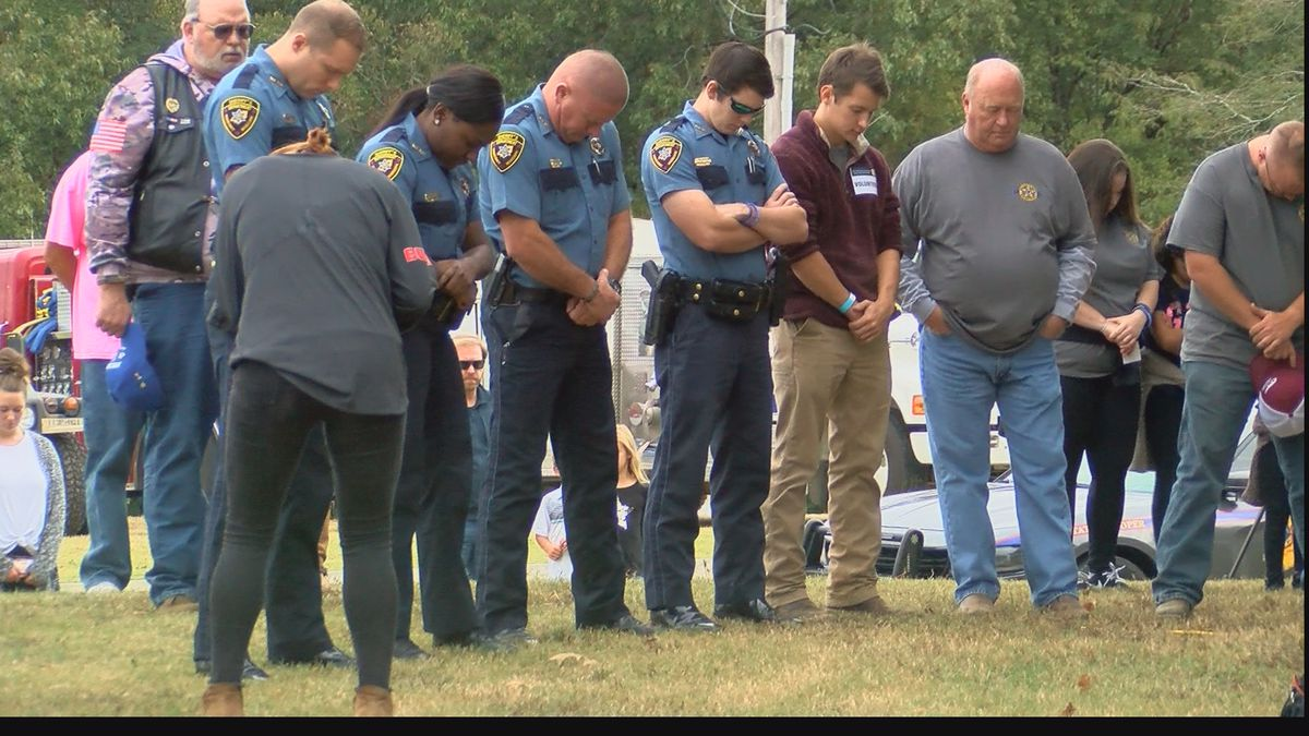 Back the Blue event honors wounded Deputy Brad Sullivan