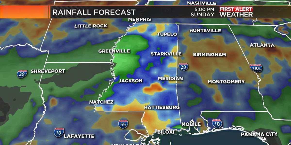 First Alert Forecast: blend of clouds and sun; periods of downpours ahead
