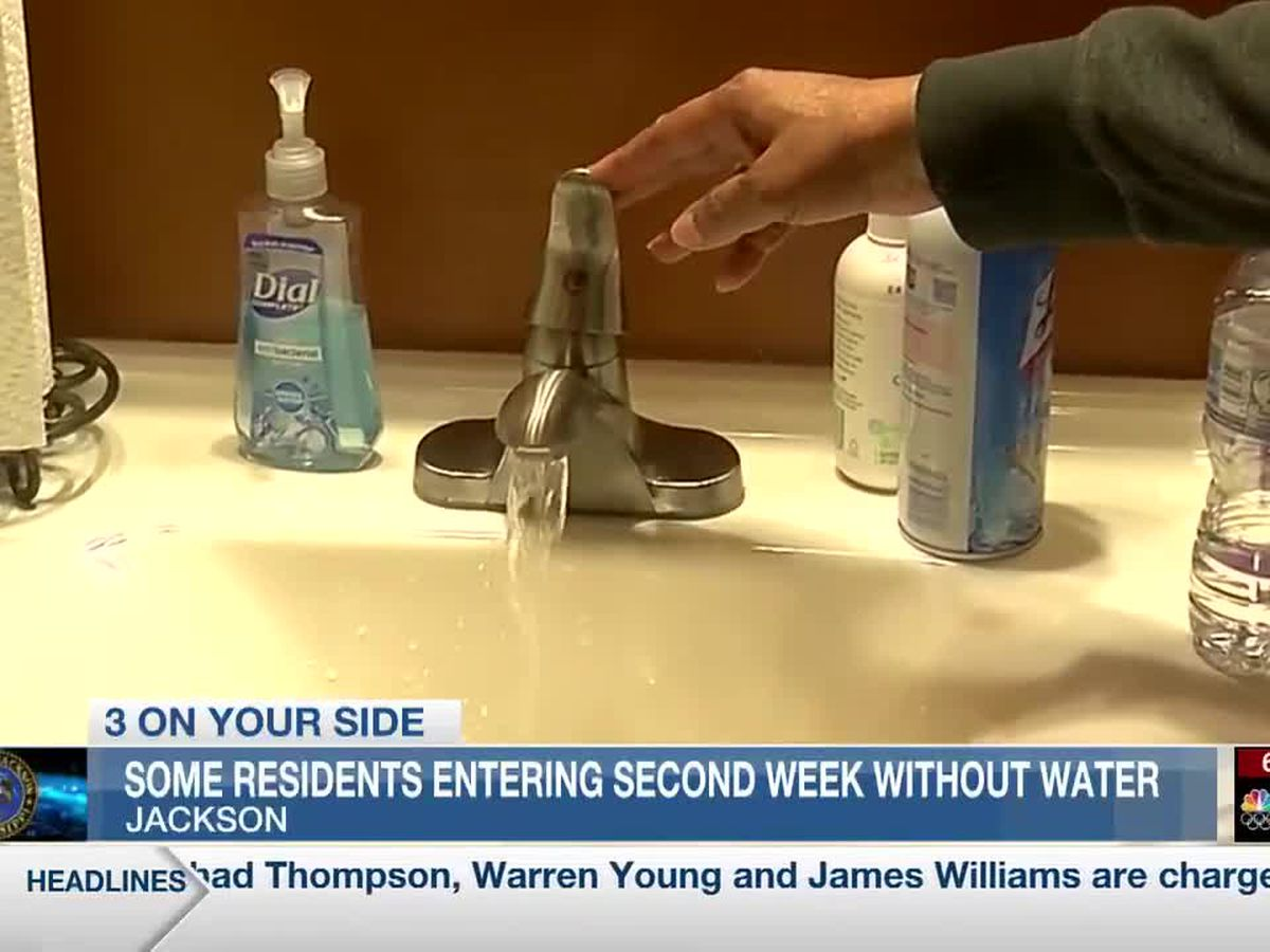 Jackson and Byram residents ready for water woes to be over