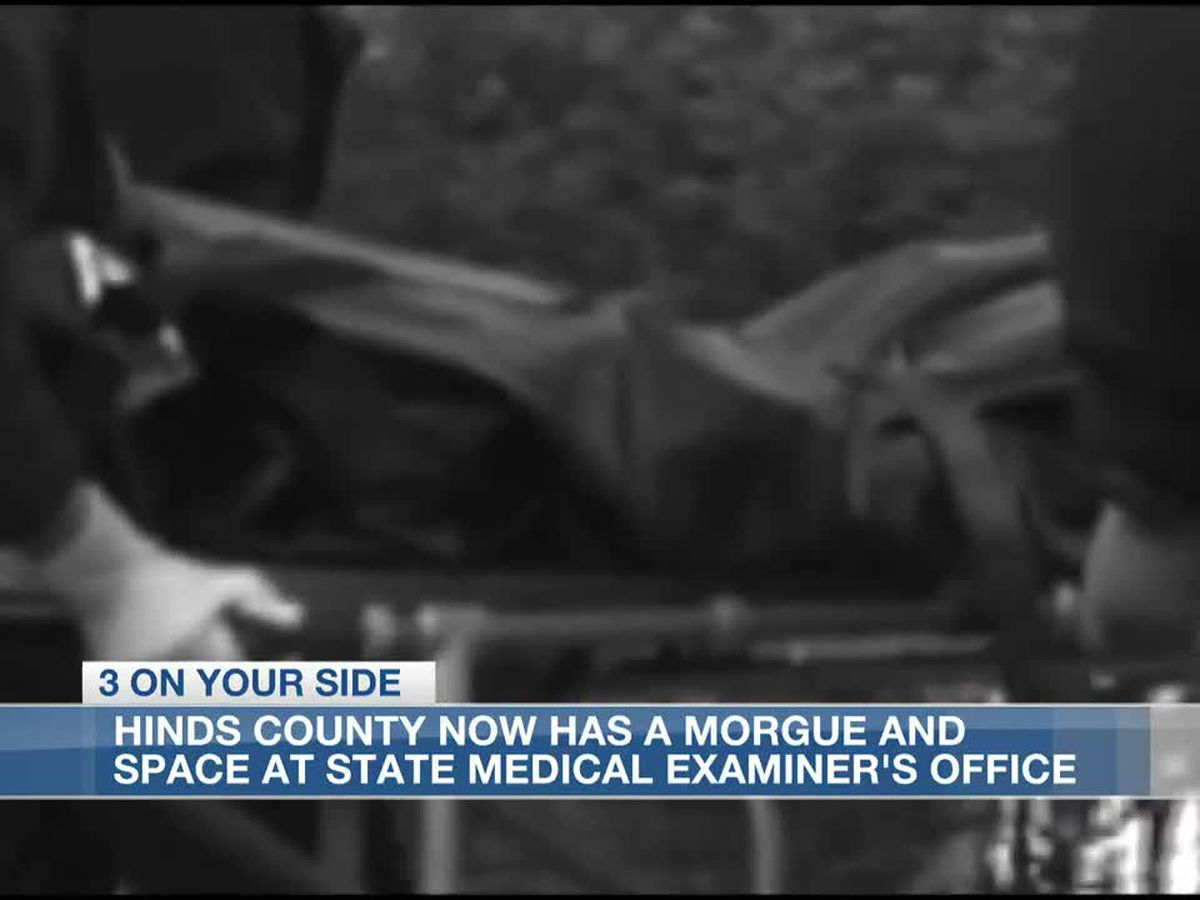 Supervisors find temporary morgue for the overflow of deceased in Hinds County