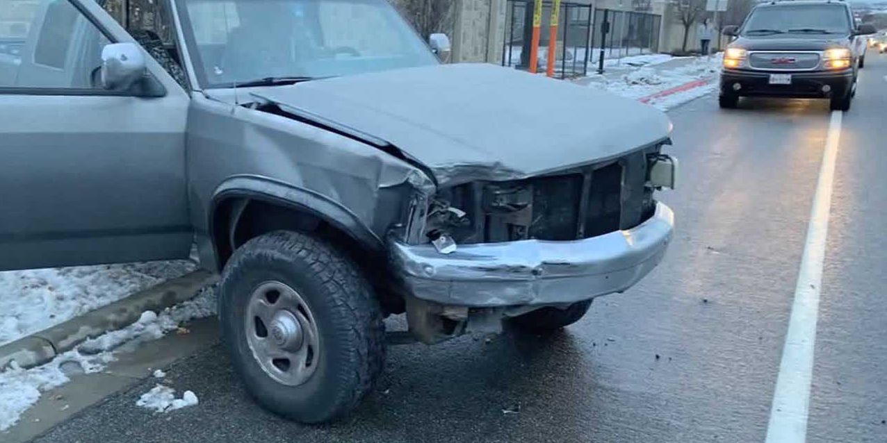 Teen driver doing 'Bird Box Challenge' causes crash, police say