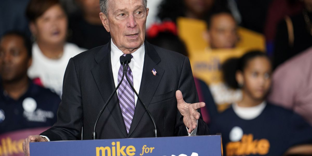 Bloomberg makes debate stage, facing Dem rivals for 1st time