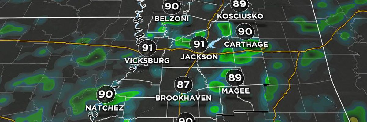 First Alert Forecast: August heat, steam lead to afternoon downpours