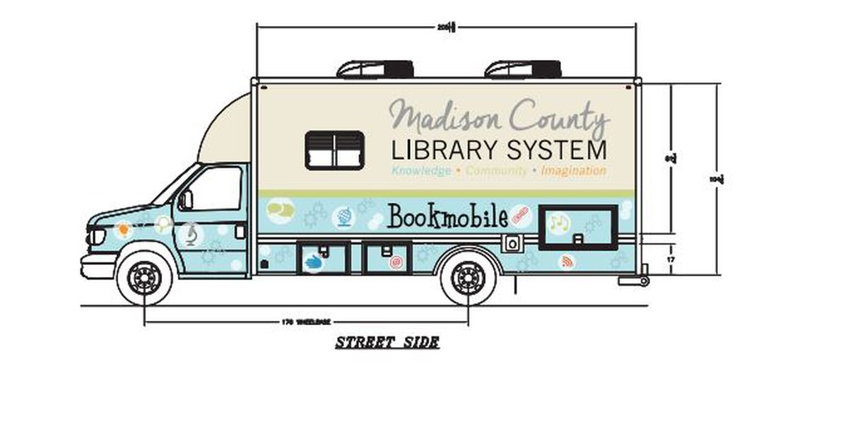 New Bookmobile coming soon to Madison County