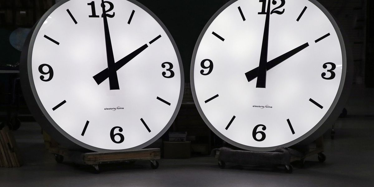 About that time: Daylight saving time strikes again