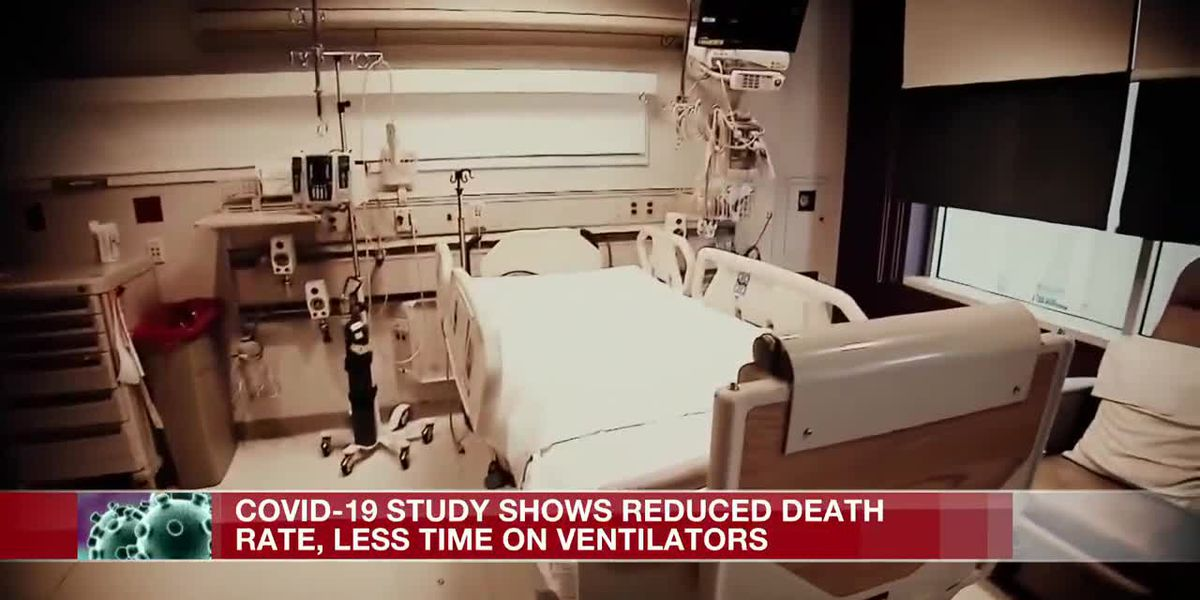 COVID-19 study shows reduced death rate, less time on ventilators