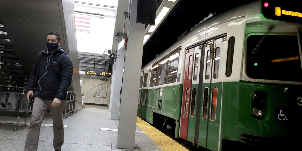 Satan tries to get a date on the Boston subway system