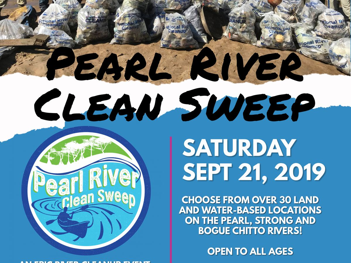 Annual Pearl River Clean Sweep scheduled for Sept. 21