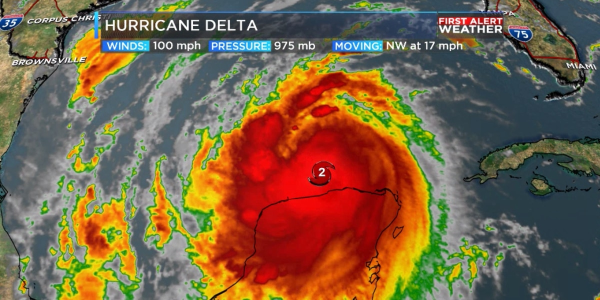 State officials make preparations for Hurricane Delta