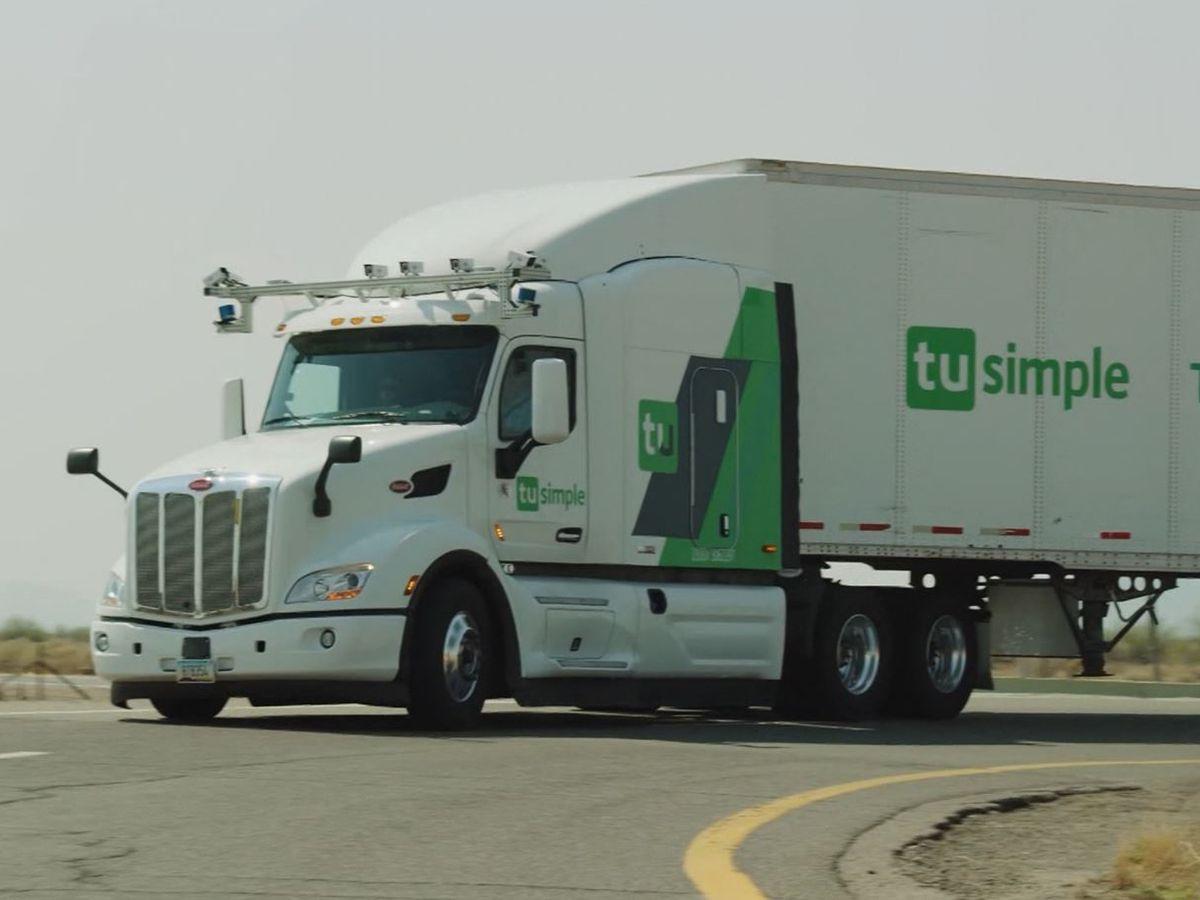 US Postal Service testing self-driving trucks