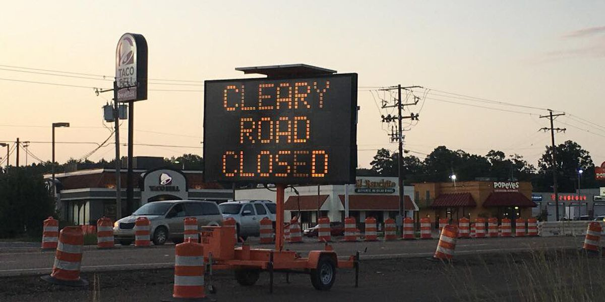 Cleary Rd. in Richland closed for 30 days due to roadwork