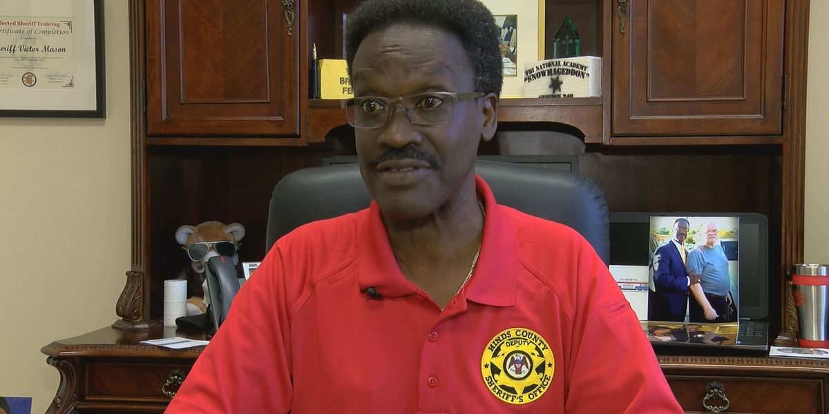 Hinds County Sheriff Victor Mason urges men to get their annual prostate exams