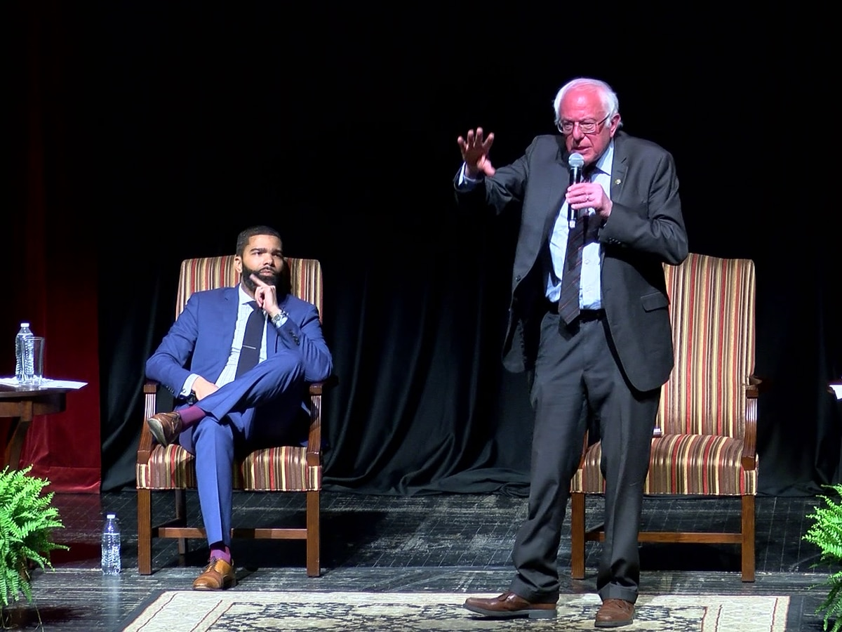 Mayor Lumumba endorses Bernie Sanders for president