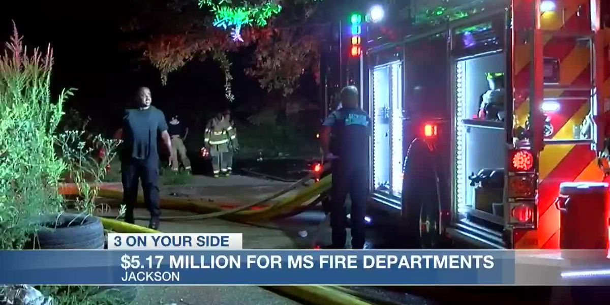 FEMA awards million for fire departments statewide
