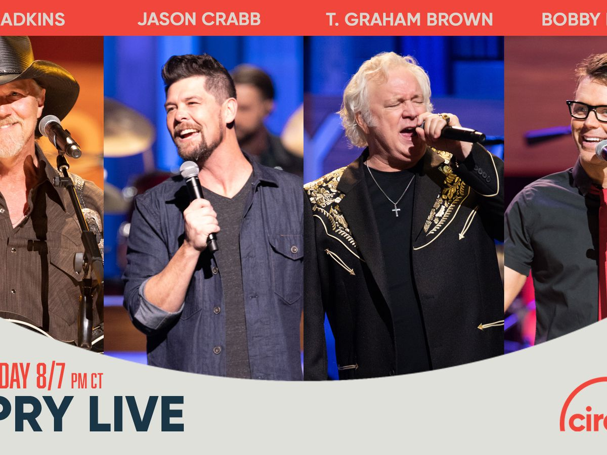 Trace Adkins to headline Grand Ole Opry Easter celebration. Here's how you can watch