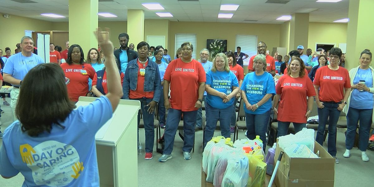 United Way kicks off their 'Day of Caring'