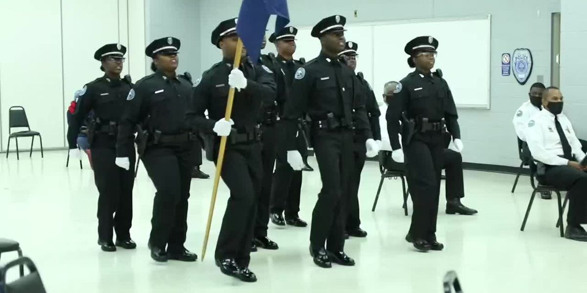 JPD's newest recruit class shrinks again, adding 8 new officers to the ranks