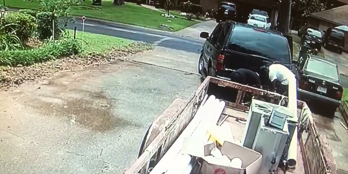 WANTED: Jackson police need help identifying trailer thieves