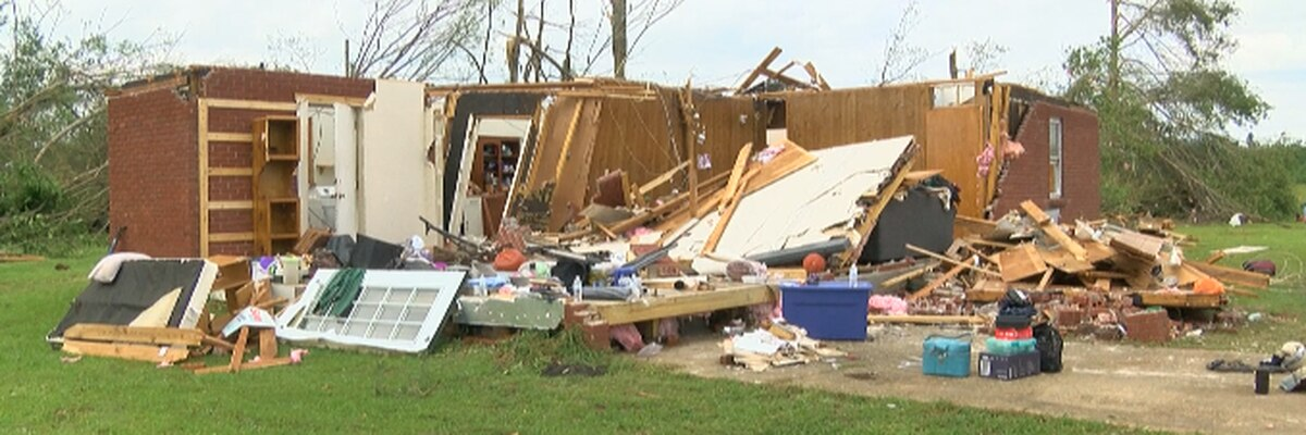 Son finds father's body under rubble after tornado tears through Marion Co.