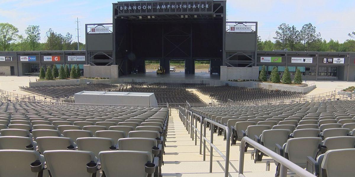 Brandon Mayor: Amphitheater exceeding expectations
