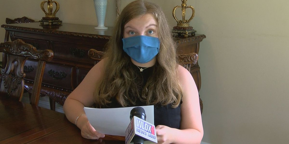 Gulfport teen calls out her peers to do more to prevent the spread of COVID-19