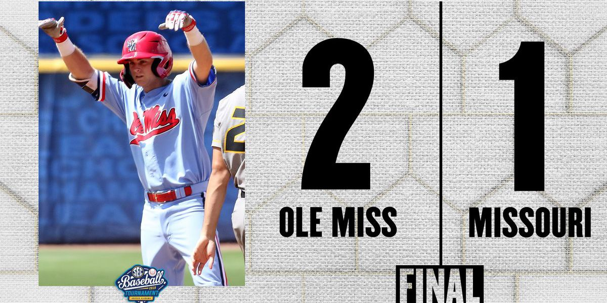 Ethridge shuts down Missouri as Ole Miss Baseball advances in SEC Tournament